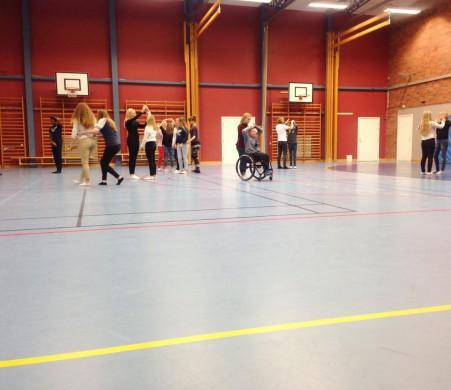 Dansworkshop.