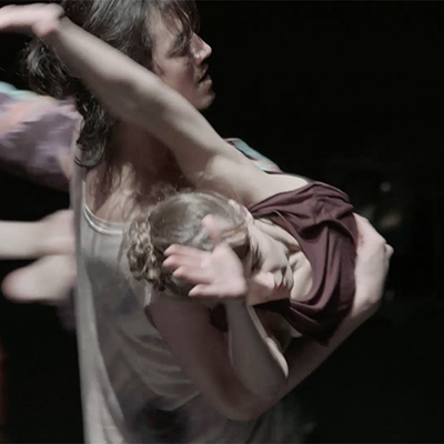 Image from the performance Trio. Photo: Lars Dyrendom