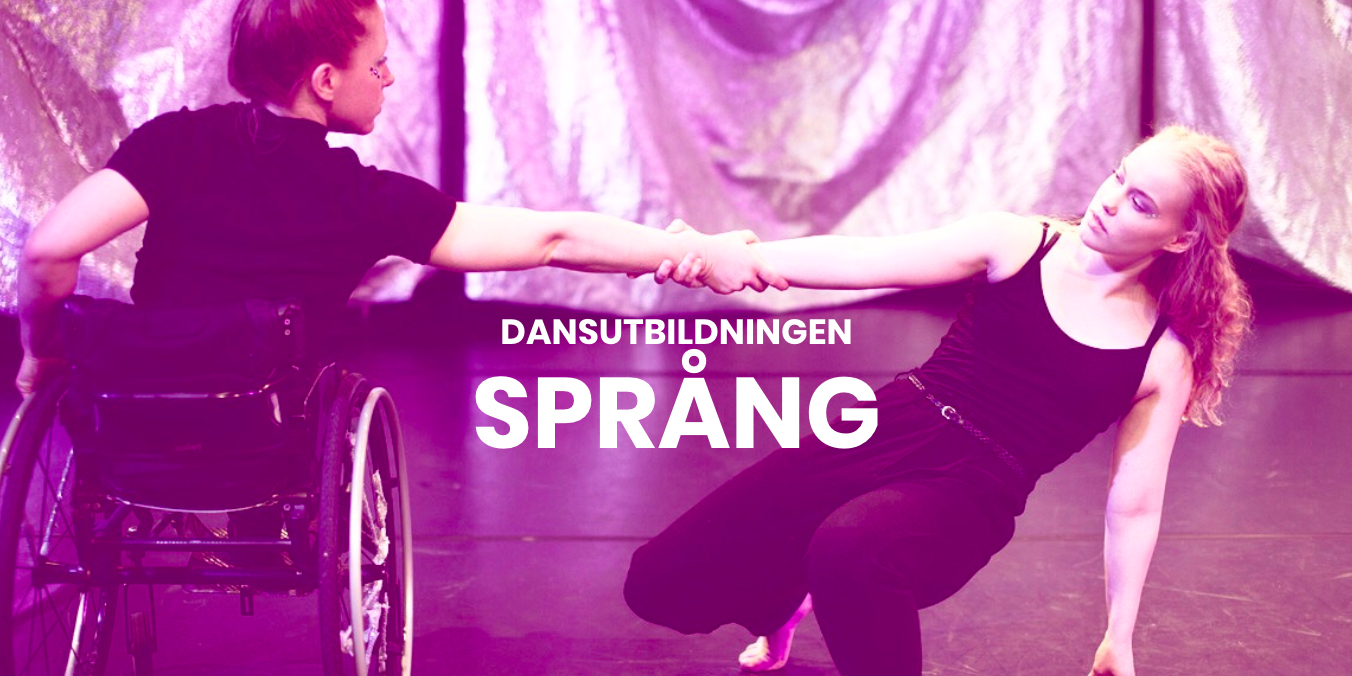 Image from Dansutbildningen Språng's website. Photo: Beata Rydén