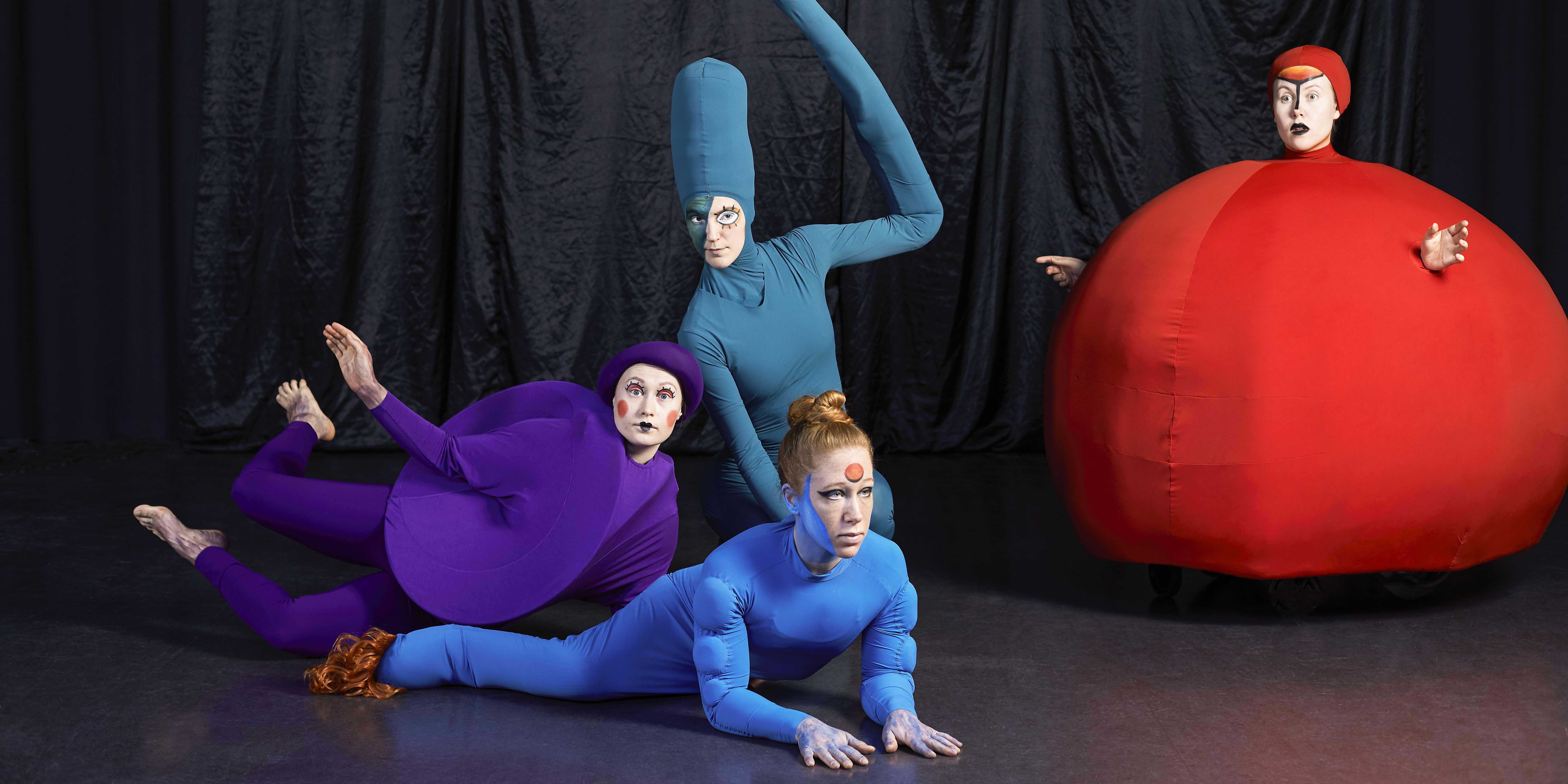 Bild från föreställningen Miramos av Torgunn Wold. Foto: Lina Ikse